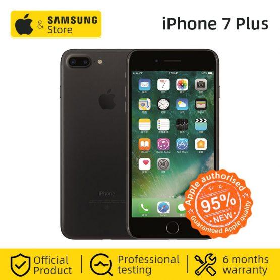 Original Apple iPhone 7 Plus 3GB RAM 32GB IOS CellPhone 12.0MP Camera Quad-Core Fingerprint LTE Smartphone(95% new