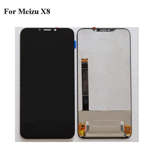 Black LCD+TP For Mei zu X8 X 8 LCD Display with Touch Screen Digitizer Smartphone Replacement MeizuX8 M852Q repair 6.2""