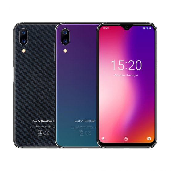 """UMIDIGI One Max Global Vertion 128GB 6.3"""" Waterdrop Full-Screen Smartphone 4150mAh NFC Wireless Charge Android 8.1 Mobile phone"""