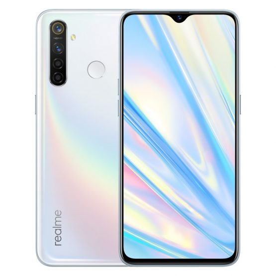 "Original Realme Q Mobile Phone 6.3"" Full Screen 4GB RAM 64GB ROM Snapdragon 712 AIE Android 9.0 48.0MP Four Cameras Smartphone"