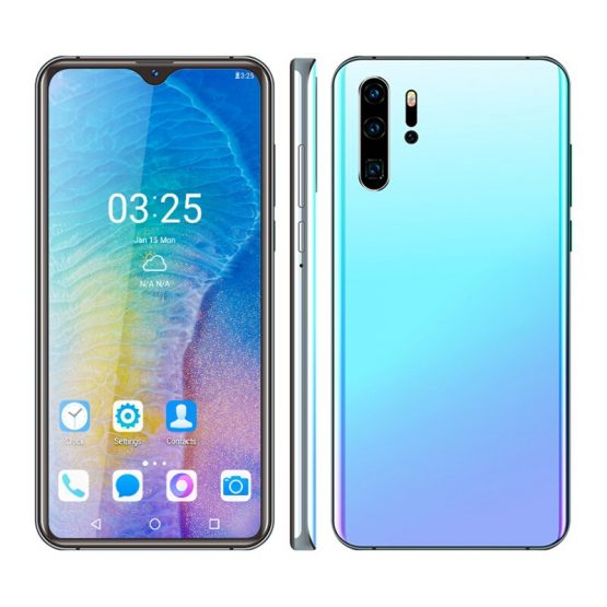 P30 PRO Smartphone 6.26 inch Android Phones Quad Core 2GB RAM 32GB ROM Waterdrop Screen Mobile Phone Dual Card 3000mAh Battery