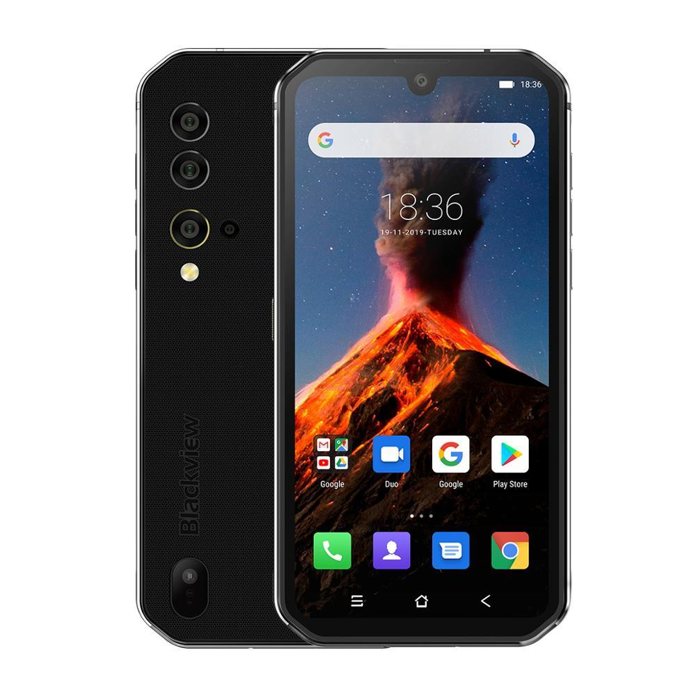 Blackview BV9900 NFC 8GB RAM 256GB ROM Helio P90 Octa Core 4G Rugged Smartphone 4380mAh Android 9.0 IP68 Waterproof Mobile Phone