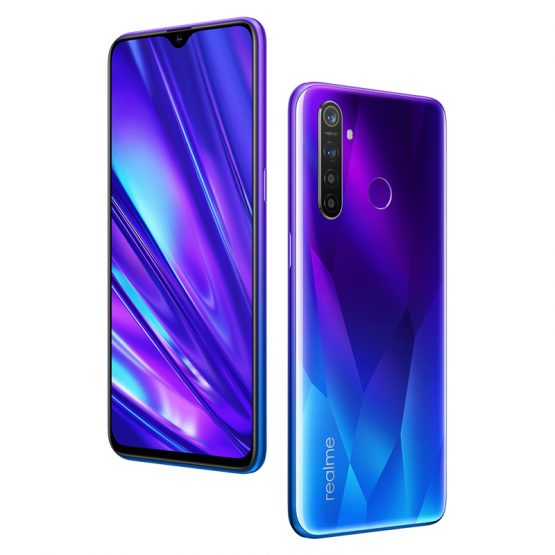 realme 5 Pro Global Version 4GB 128GB Snapdragon 712 Octa-Core Smartphone 48MP Quad Camera VOOC 20W Fast Charge Mobile Phone