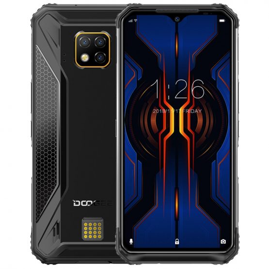 """DOOGEE S95 Pro 8GB + 128GB NFC 48mp camera IP68/IP69K shockproof Mobile Phone 6.3"""" Octa Core Android 9.0 4G Rugged Smartphone"""