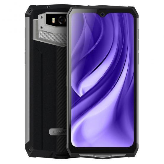 Blackview BV9100 IP68 Waterproof Cellphone 13000mAH 30W Fast Charging 4G Mobile Phone MTK6765 4GB+64GB 16.0MP Rugged Smartphone