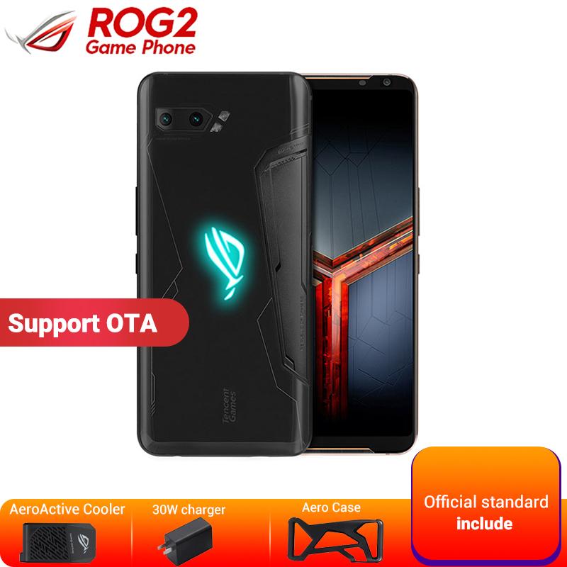 "Asus ROG Phone 2 12GB 1TB Gaming Smartphone Asus ROG Phone II ZS660KL 6.59"" Snapdragon 855+ 6000mAh 48MP NFC Game Mobile Phone"