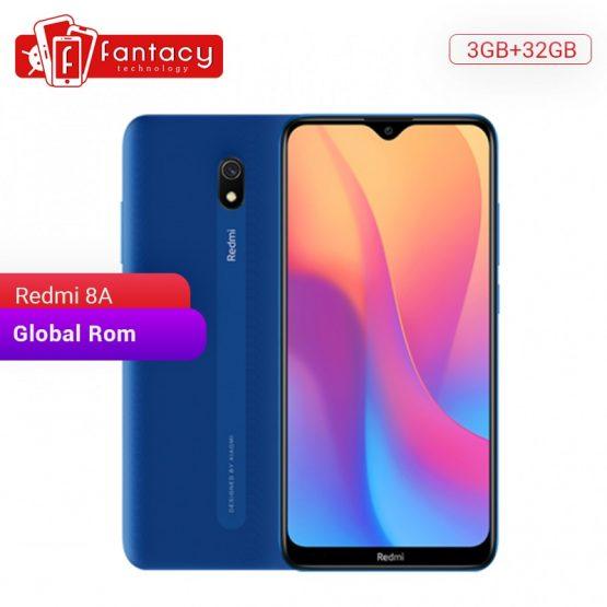 Global Rom Xiaomi Redmi 8A 8 A 3GB 32GB 6.22'' Full Screen Snapdargon 439 Octa core Mobile Phone 5000mAh 12MPAI Cam Smartphone