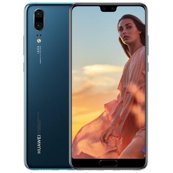 "Original Huawei P20 5.8"" Full Screen Mobile Phone 6GB 64/128GB Android 8.1 24MP+20MP Camera 4G LTE 3400mAh Octa Core Smartphone"