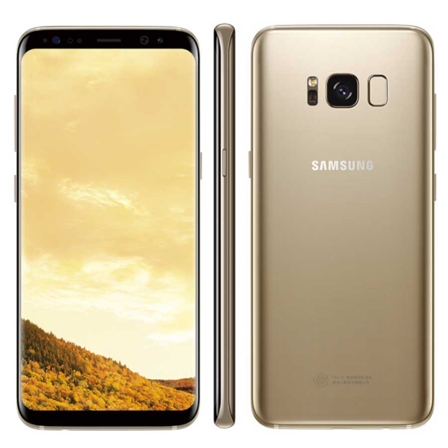 """Brand New Global Version 4GB 64GB Samsung Galaxy S8 plus S8+ G955FD Dual SIM Mobile Phone 6.2"""" NFC 4G LTE Android SmartPhone"""