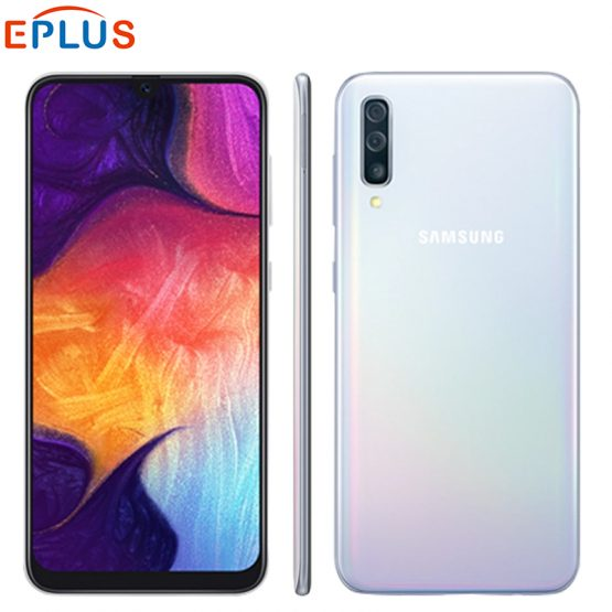 "New Original Samsung Galaxy A50 6GB 128GB Mobile Phone A505GN-DS 6.4"" Exynos 9610 Octa Core Android 9.0 Dual SIM 4G SmartPhone"