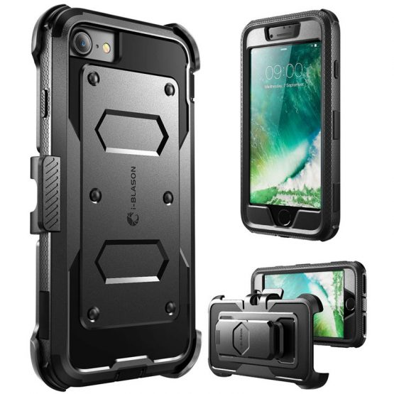 For iPhone SE 2020 Case For iphone 7/8 Case i-Blason Armorbox Full-Body Heavy Duty Bumper Cover WITH Built in Screen Protector