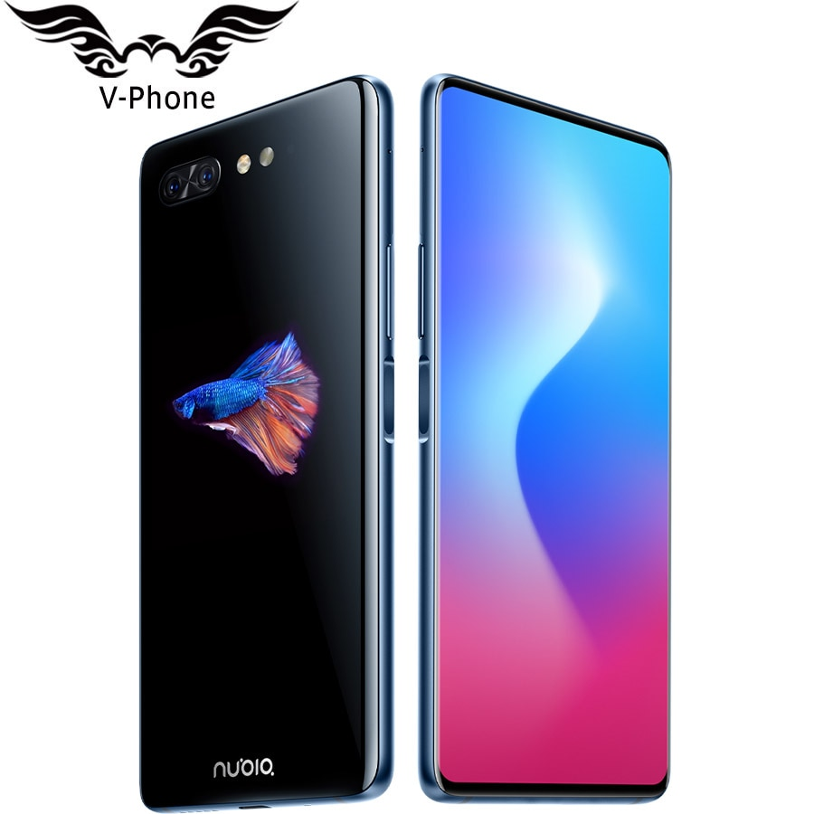 """Brand NEW ZTE Nubia X 8GB 128GB Dual Screen Mobile Phone 4G LTE 6.26 inch 5.1"""" Snapdragon 845 24MP 16MP Dual Display Smartphone"""