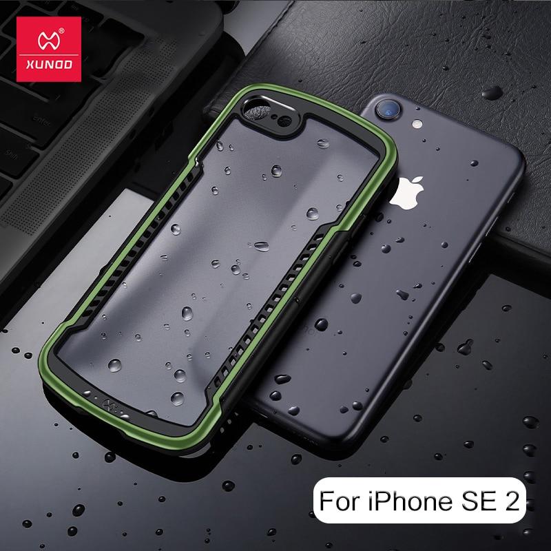 Xundd Protective Cover For iPhone SE 2020 Case Shockproof Transparent Case Airbag Bumper Back Shell For iPhone SE2 SE 2 Case