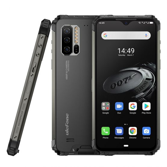 Ulefone Armor 7E Global Version Rugged Phone Helio P90 128G 48MP Camera Smartphone 2.4G/5G WiFi Waterproof IP68 Android 9.0 NFC