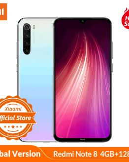 Global Version Xiaomi Redmi Note 8 4GB 128GB Smartphone 48MP Quad Camera Snapdragon 665 Octa Core 4000mAH 6.3'' Dot Drop Display
