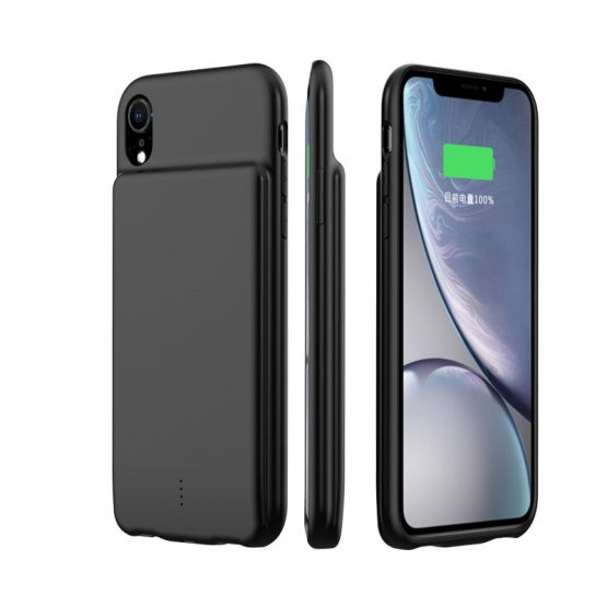 2020 5000mAh Portable Battery Charger Case For iPhone Xs Max XR External Power Bank Back Clamp Charging Case Support Audio