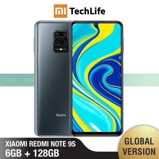 Global Version Xiaomi Redmi Note 9S 6GB RAM 128GB ROM (Brand New / Sealed) redminote9s, redmi, note, 9s Smartphone Mobile