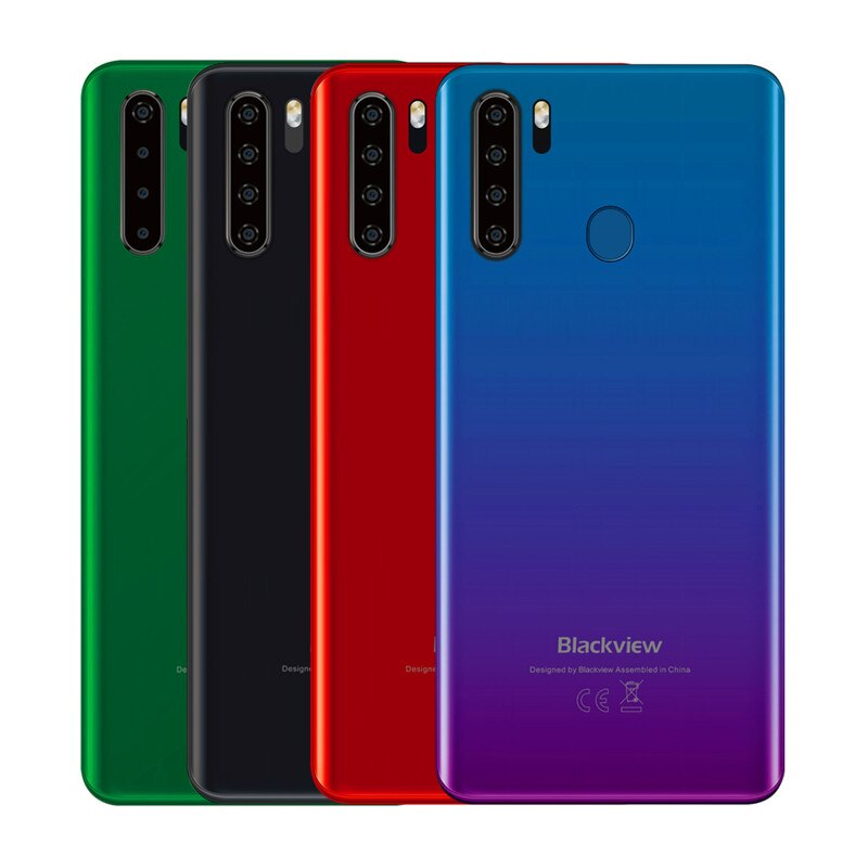 Blackview A80 Pro 4GB 64GB 6.49'' Waterdrop Smartphone Helio P25 Octa Core Android 9.0 Global Version 4G Mobile Phone 4680mAh