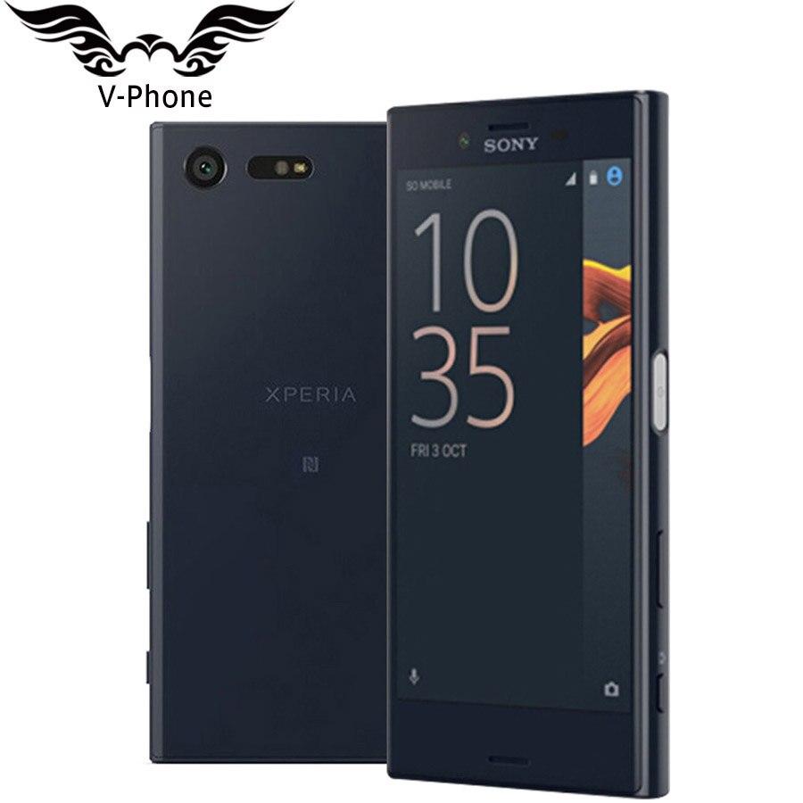 "Brand New Original Sony Xperia X Compact 3GB 32GB Mobile Phone 4G LTE Snapdragon F5321 4.6""23MP 5MP FM Micro SD NFC Smartphone"