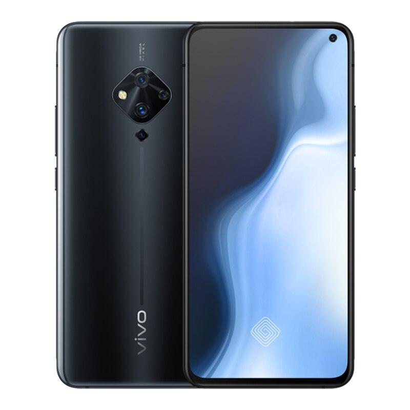 "Original vivo S5 Mobile Phone 6.44"" 8G+128G Snapdragon 712 Octa Core 48MP Quad Rear Cameras 4100mAh 22.5W Fast Charge Smartphone"