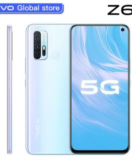 Original new vivo Z6 5G Smartphone Snapdragon 765G 6GB 128GB 5000mAh Battery 44W Dash Charging 48.0MP 4 Rear Cameras Telephone
