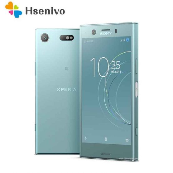 "Global Sony Xperia XZ1 Compact G8441 Mobile Phone 4GB RAM 32GB ROM Snapdragon 835 Octa core 4.6"" 19MP 8MP 4G NFC SmartPhone"