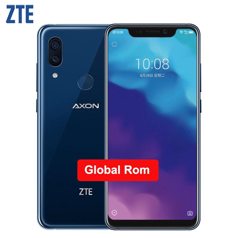 Original ZTE Axon 9 Pro IP68 Waterproof Mobile Phone 6.21 inch 8GB RAM 256GB ROM Snapdragon 845 Octa Core 4000mAh NFC Smartphone