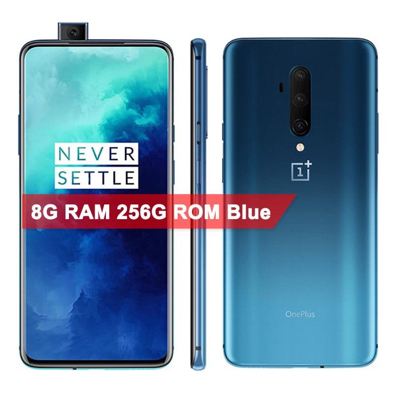Global ROM Original OnePlus 7T Pro Smartphone Snapdragon 855 Plus 6.67'' Fluid AMOLED 90Hz Screen 48MP Camera Battery UFS 3.0