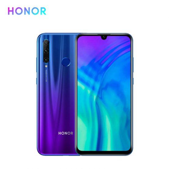 "Huawei Honor 20 Lite 20i Mobile Phone Smartphone Cell Phone 6.21""FHD Dewdrop FullView screen 3400mAh octa-core Dual SIM WIFI GPS"