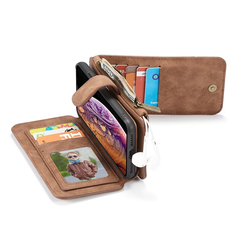 Phone Flip case For Iphone 11 pro X Xr Xs Max 5 s se 2020 6 s 7 8 Plus Coque Luxury Leather Etui Protective Covers accessories