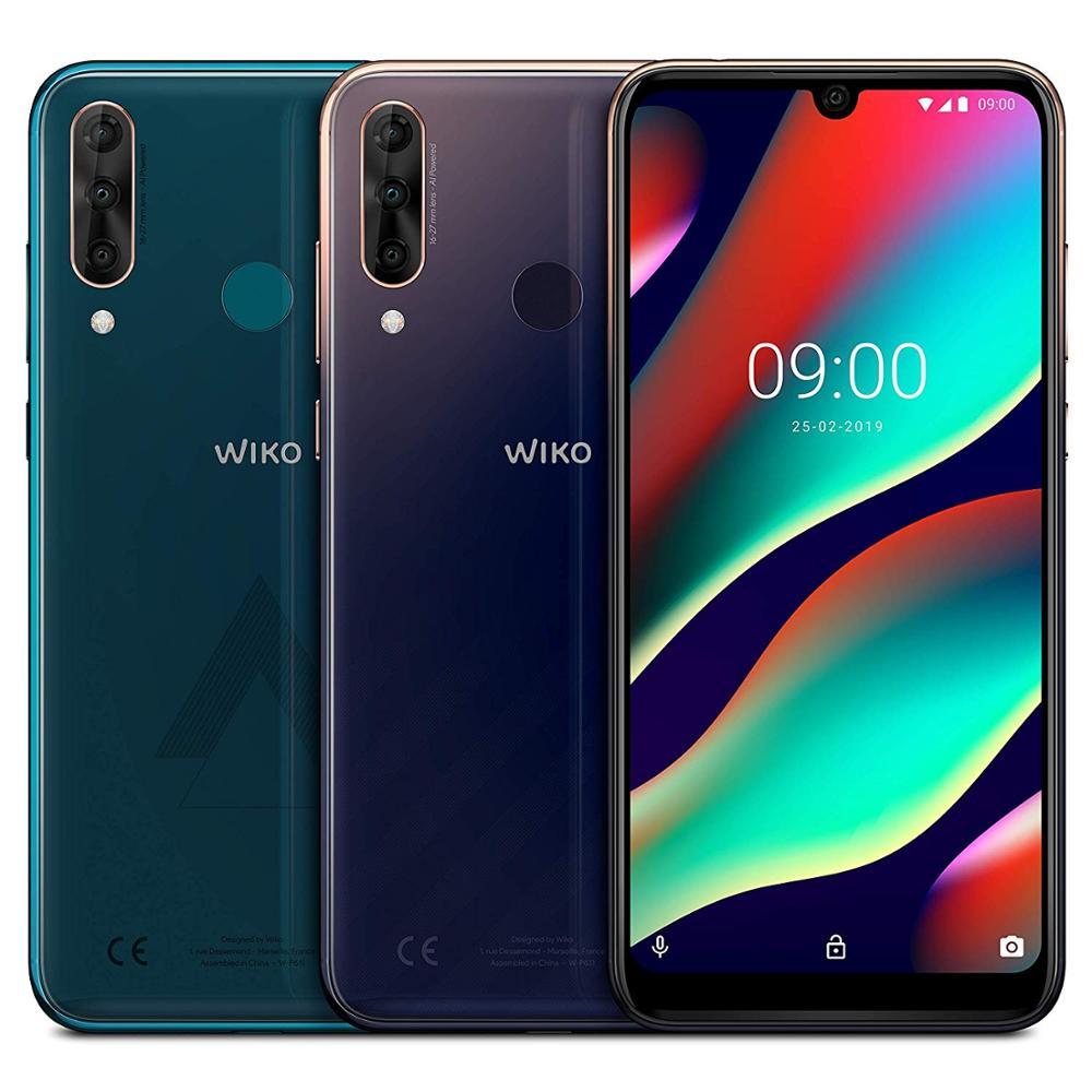 Original Wiko View 3 Pro 128Gb smartphone fastshipping