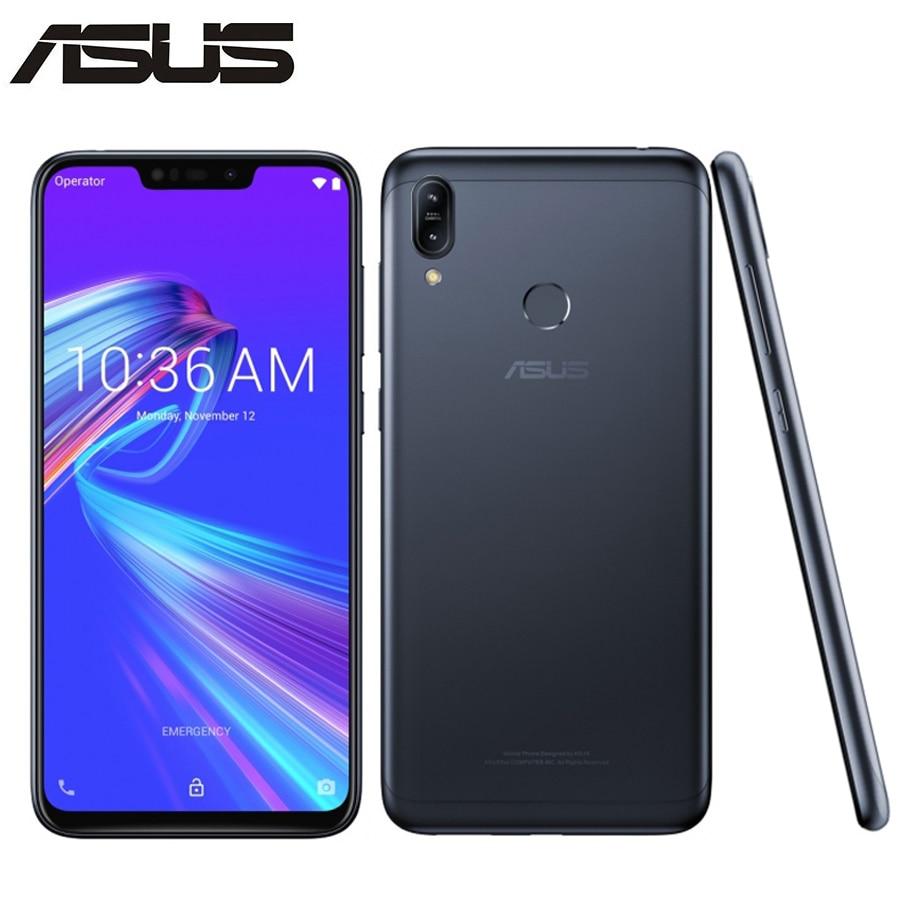 "Global Asus Zenfone Max M2 ZB633KL 4GB 64B Mobile Phone Snapdragon 632 Octa Core 6.26"" 13MP Dual Camera 4000mAh 4G Smartphone"