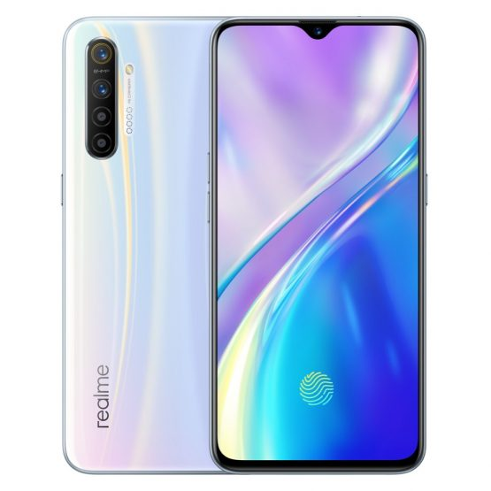 "EU Version realme XT 8GB 128GB 6.4"" Mobile Phone Snapdragon 712 64MP Quad Camera Cellphone 4000mAh Fast Charge Smartphone OPPO"