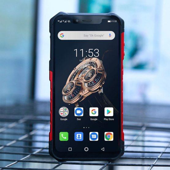 "Ulefone Armor 6S IP68/IP69K Rugged Phone Helio P70 Octa-core 6.2"" FHDAndroid 9.0 6GB+128GB NFC Face ID Global Version Smartphone"