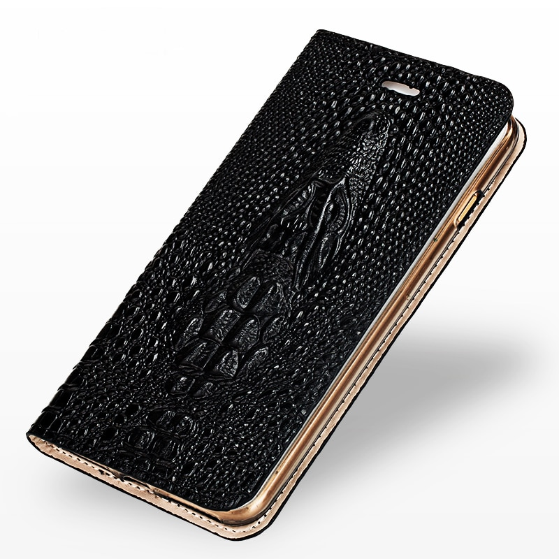 Genuine Leather phone case for iphone 11 pro max SE 2 SE 2020 flip case Card slot 360 full silicone protective shockproof coque