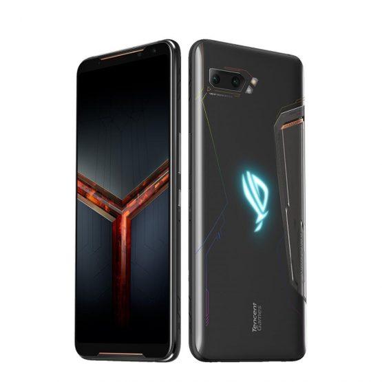 Global Version ASUS ROG Phone 2 Smartphone 12GB RAM 512GB ROM Octa Core Snapdragon 855 6000mAh NFC OTA update Android9.0
