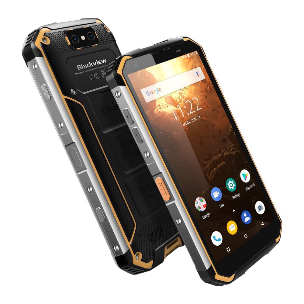 Blackview BV9500 Plus Helio P70 Octa Core MobilePhone IP68 Waterproof 5.7inch Smartphone 4GB+64GB Android 9.0 Cellphone 10000mAh