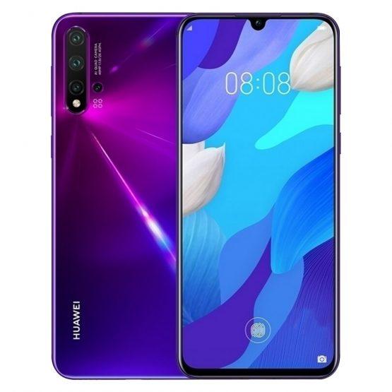 "New Original Huawei Nova 5 Pro 8GB 128GB 256GB Mobile Phone 6.39"" Quad Camera 48MP Fingerprint NFC Android 9.0 4G LTE Smartphone"