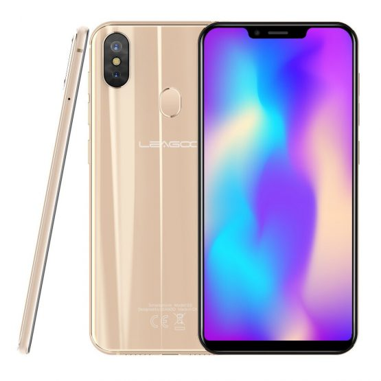 "LEAGOO S9 Smartphone 5.85"" HD+ IPS 19:9 Screen MTK6750 Octa Core 4GB RAM 32GB ROM Android 8.1 Fingerprint 13MP 4G LTE Phone"