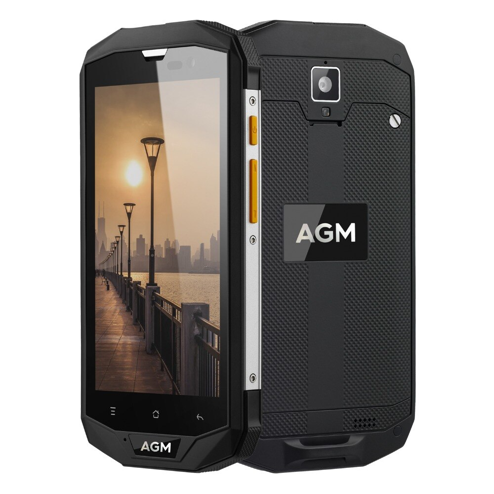 """AGM A8 SE 5.0"""" Qualcomm MSM8916 IP68 Waterproof cell phone Android 7.0 4G Mobile Phone 2GB RAM 16GB ROM 8.0MP 4050mAh smartphone"""