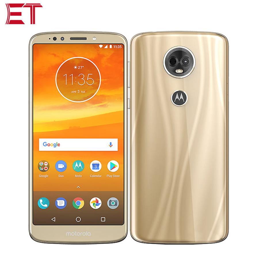 "Motorola Moto E5 Plus XT1924 Global Version Mobile Phone 3GB RAM 32GB ROM Snapdragon425 6.0""1440X720P 5000mAh Android Smartphone"