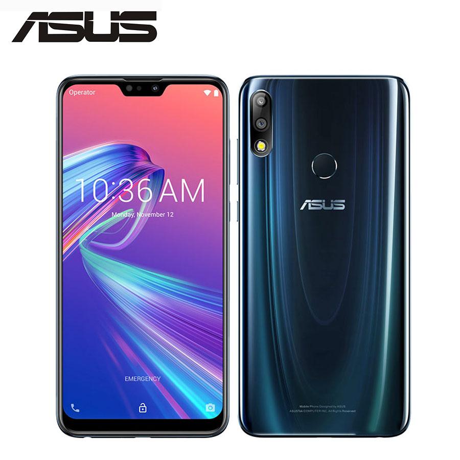 "New Original Asus Zenfone Max Pro M2 ZB631KL Mobile phone 5000mAh 4GB RAM 6GB ROM 6.26"" Snapdragon 660 Octa core NFC Smartphone"