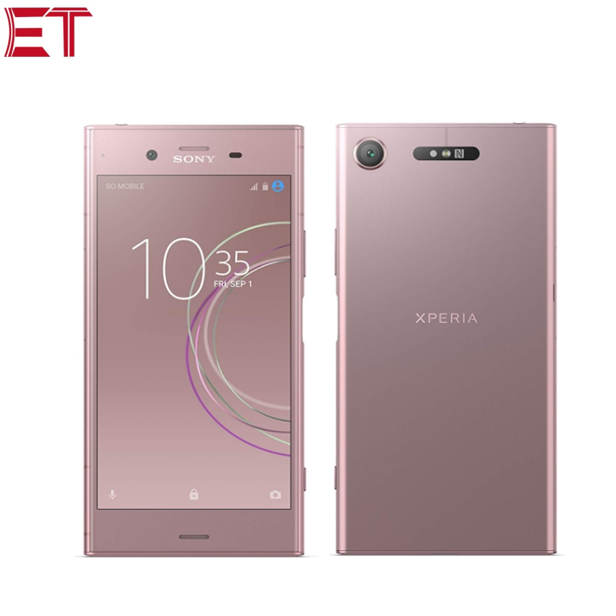 """New Sony Xperia XZ1 G8341 LTE Mobile Phone 5.2""""1080x1920p 4GB RAM 64GB ROM Snapdragon835 OctaCore 2700mAh NFC Android Smartphone"""