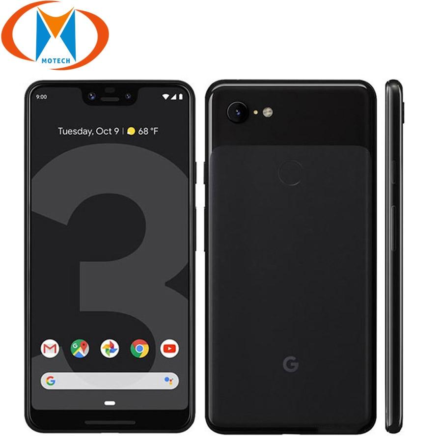 "New Original Google Pixel 3 XL 128GB Mobile Phone 6.3"" Snapdragon 845 4GB RAM 64GB ROM Android 9.0 NFC Fingerprint Smartphone"