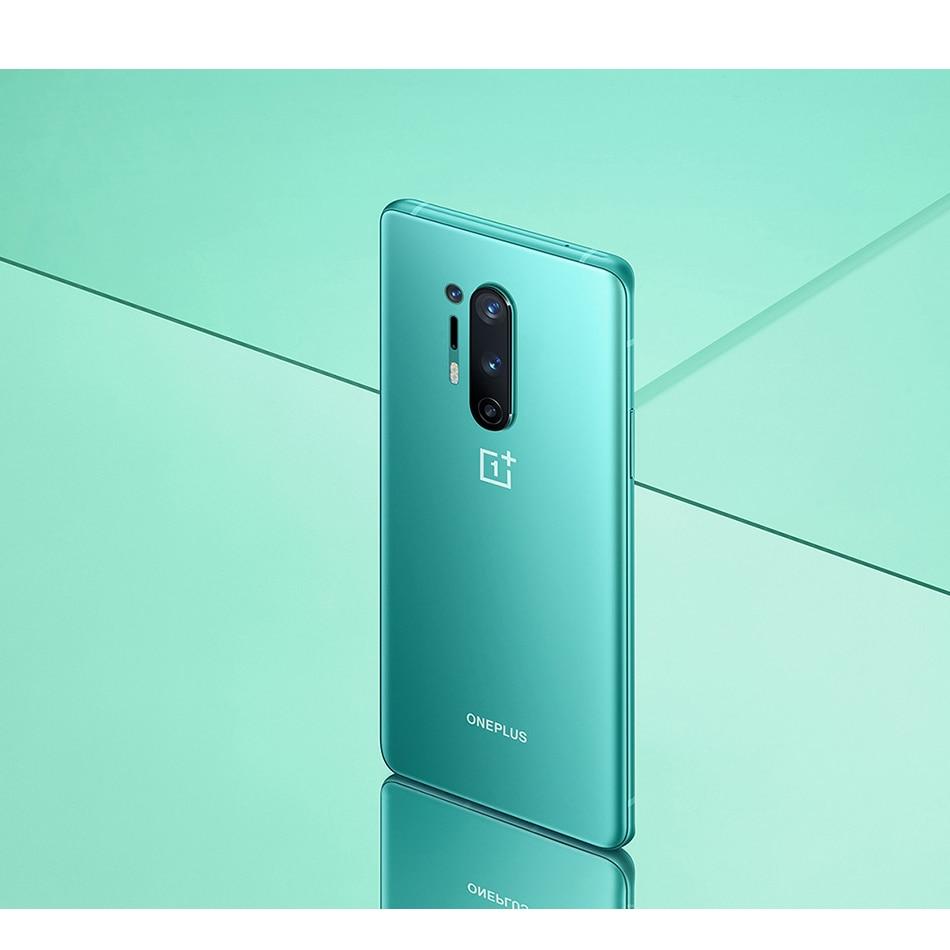 "International ROM Oneplus 8 pro 5G Mobile Phone 12GB RAM 256GB ROM 6.78"" 120Hz Snapdragon 865 48MP NFC 8GB 128GB 5G Smartphone"