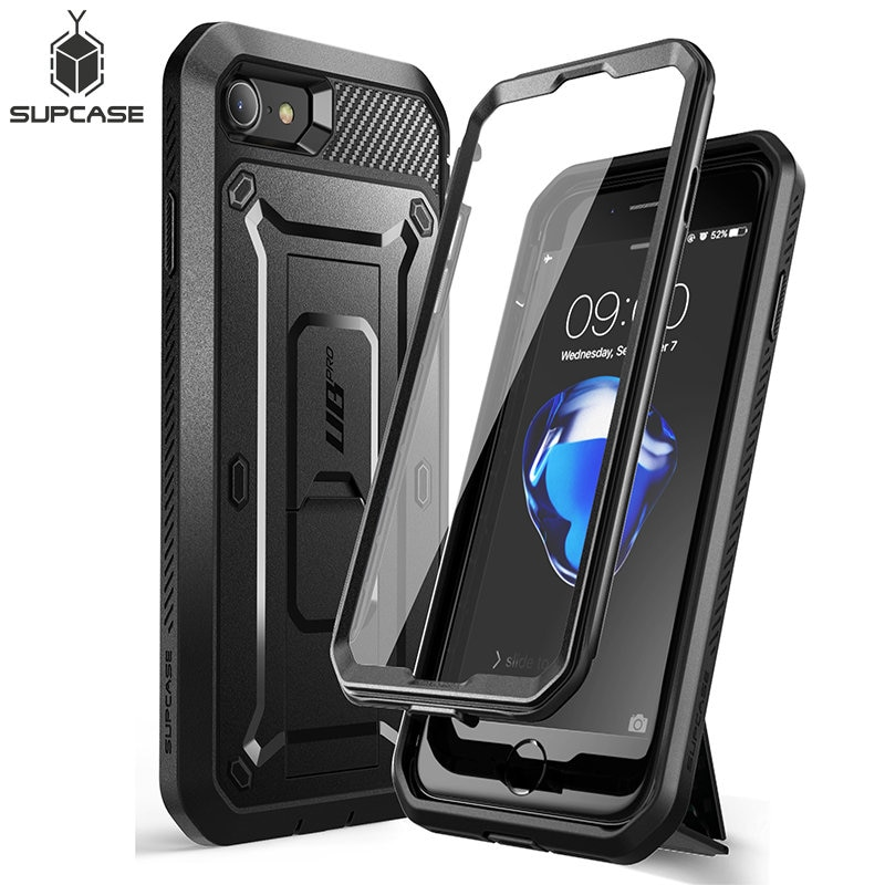 For iPhone SE 2020 Case For iPhone 7/8 Case SUPCASE UB Pro Rugged Holster Cover Case with Built-in Screen Protector & Kickstand