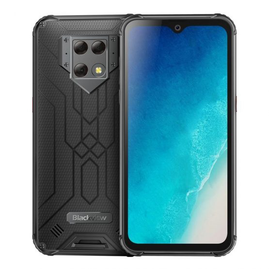 """Blackview BV9800 NFC 6GB RAM 128GB ROM 6580mAh Android 9.0 shockproof mobile phone 4G Rugged Smartphone 6.3"""" Helio P70 Octa Core"""
