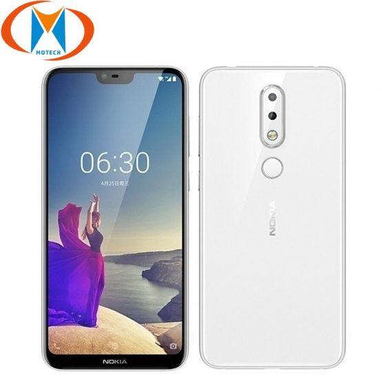 "Nokia X6 Global Firmware 5.8"" Snapdragon636 Octa Core 4GB RAM 64GB ROM Mobile Phone16MP 3060mAh Battery Fingerprint SmartPhone"