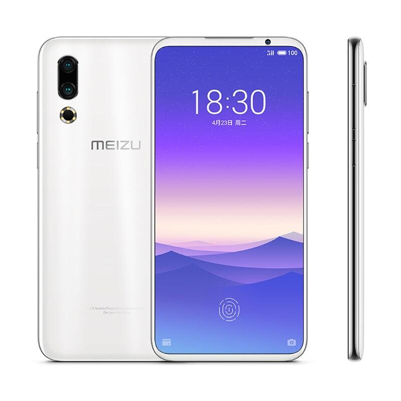 "Original Meizu 16s Mobile Phone 6G/8G RAM 128GB ROM Snapdragon 855 6.15"" 48MP Dual Camera AI Front 20MP 3600mAh NFC Smartphone"