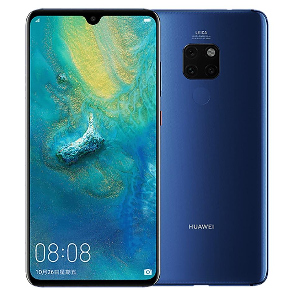 "Global Version Huawei Mate 20 Mobile Phone 4GB / 6GB RAM 128GB ROM 6.53"" 4000mAh Octa core 3 Rear Camera Android 9 4G Smartphone"